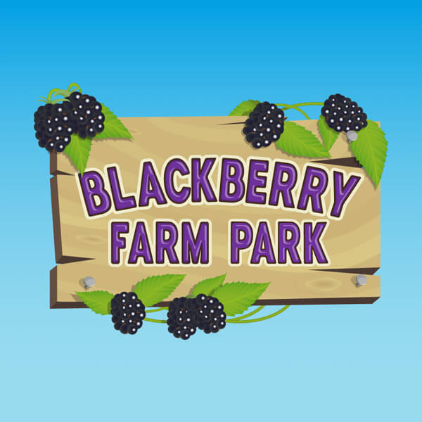 Blackberry Farm Park, Whitesmith - Logo and website by Digital Fuse