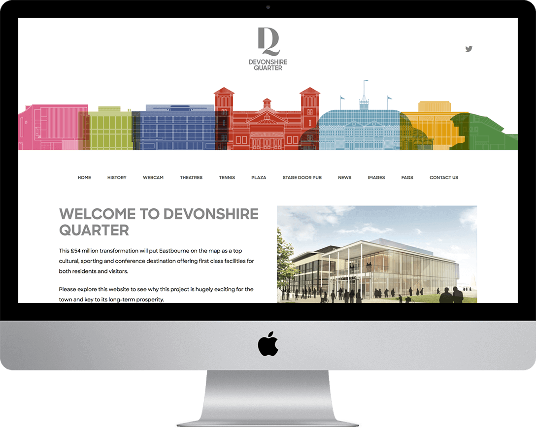 Devonshire Quarter re-development scheme in Eastbourne