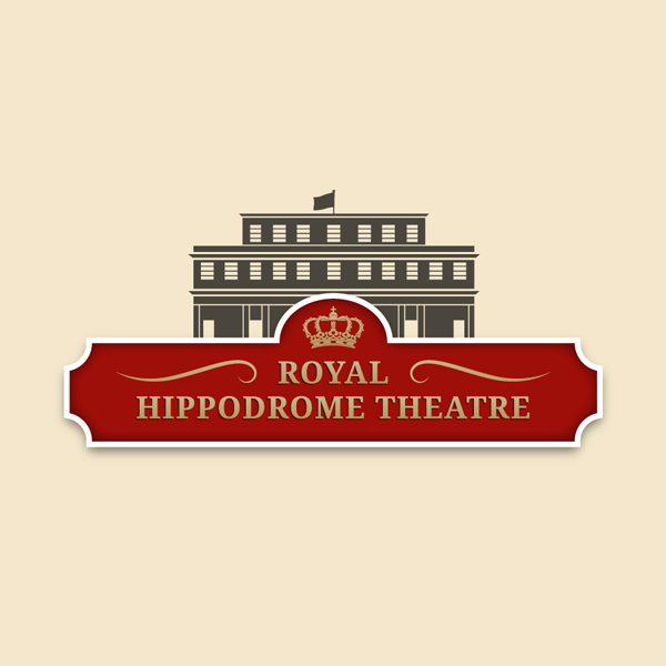 Royal Hippodrome Theatre Logo and Website by Digital Fuse
